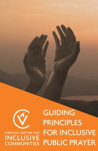 Guiding Principles for Inclusive Public Prayer Cover