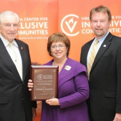 Miriam R. Davidow received the VCIC Humanitarian Award in 2011.