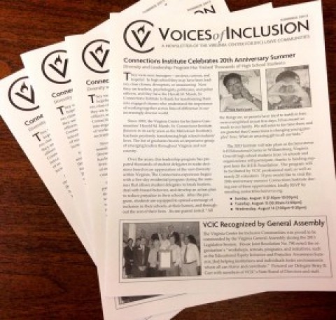 "Summer ""Voices of Inclusion"" Newsletter"